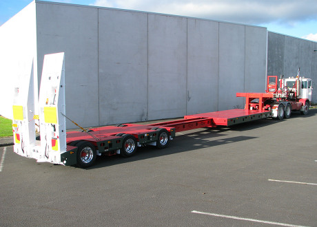 3x4 Extendable deck low Loader from TRT